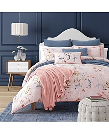 Beatrice Rose Full/Queen 3pc. Comforter Set
