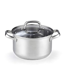 Cook N Home 02609, Lid 5-Quart Stainless Steel Casserole Stockpot