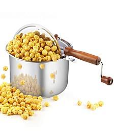 02627, 6-Quart Stainless Steel Popcorn Popper