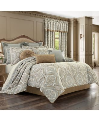 J Queen Sorrento Queen 4pc. Comforter Set