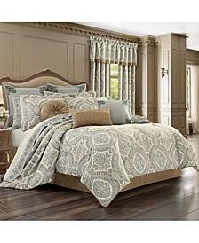 J Queen Sorrento Queen 4pc. Comforter Set