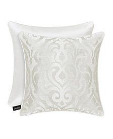 "J Queen Cordelia 20"" Square Decorative Throw Pillow"