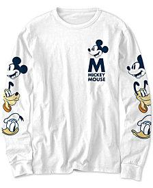 Disney Big Boys Mickey Mouse Character Heads T-Shirt