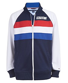 Tommy Hilfiger Big Boys Gerry Colorblocked Track Jacket