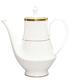 Charlotta Gold Coffee Server