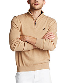 Nautica Men's Classic-Fit Navtech Quarter-Zip Sweater