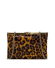 Patricia Nash Leopard Asher Clutch