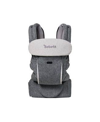 Smart Baby Carrier with Convertible Hip Seat