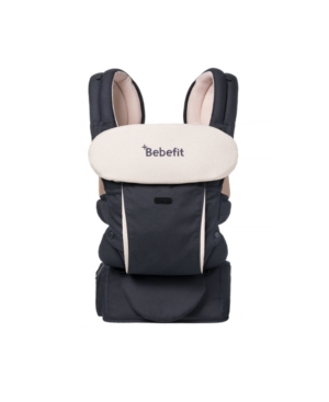 Bebefit Smart Baby Carrier with Convertible Hip Seat