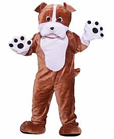 Buy Seasons Men's Bull Dog Deluxe Mascot Costume
