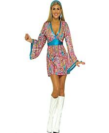 Buy Seasons Women's Wild Swirl Dress Costume