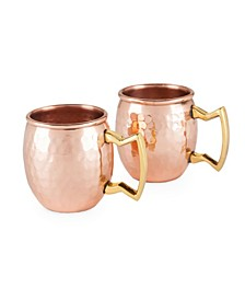 Moscow Mule Mugs, Shot Glass Size - Set of 2