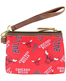 Chicago Bulls Printed Collection Wristlet