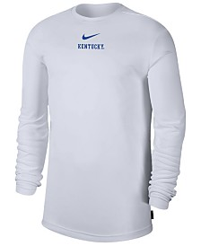 Nike Men's Kentucky Wildcats Dri-FIT Coaches Long Sleeve Top