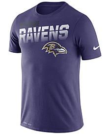 Men's Baltimore Ravens Sideline Legend Line of Scrimmage T-Shirt