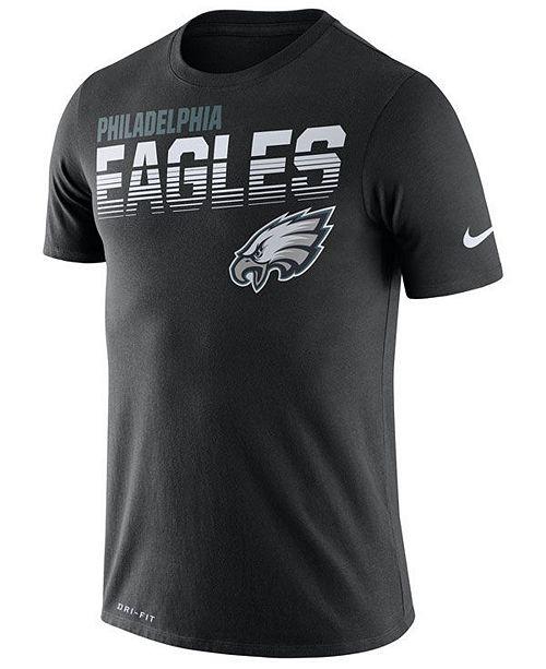 Nike Men's Philadelphia Eagles Sideline Legend Line of Scrimmage T-Shirt