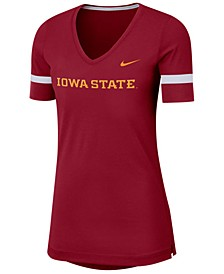 Women's Iowa State Cyclones Fan V-Neck T-Shirt