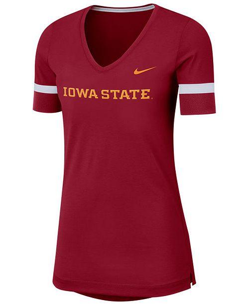 Nike Women's Iowa State Cyclones Fan V-Neck T-Shirt