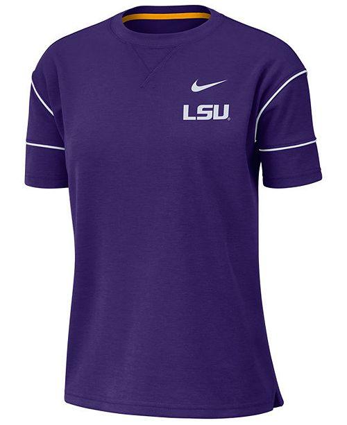 Nike Women's LSU Tigers Breathe Fashion T-Shirt