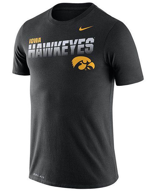 Nike Men's Iowa Hawkeyes Legend Sideline T-Shirt