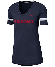 Women's Arizona Wildcats Fan V-Neck T-Shirt