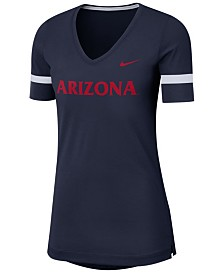 Nike Women's Arizona Wildcats Fan V-Neck T-Shirt