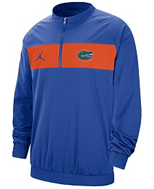 Jordan Men's Florida Gators Sideline Quarter-Zip Pullover
