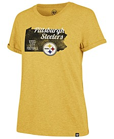 Women's Pittsburgh Steelers State Love T-Shirt