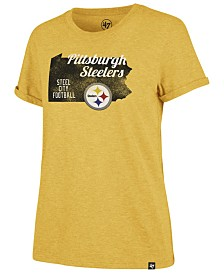 '47 Brand Women's Pittsburgh Steelers State Love T-Shirt