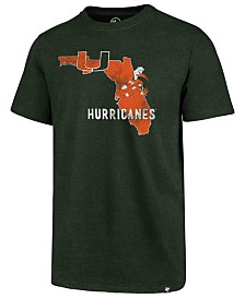 '47 Brand Men's Miami Hurricanes Regional Landmark T-Shirt