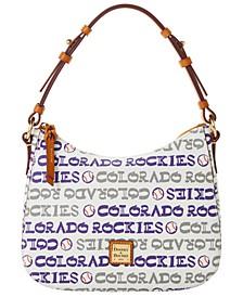Colorado Rockies Small Kiley Hobo Bag