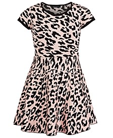 Big Girls Cheetah-Print Dress
