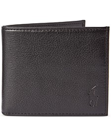 Men's Pebbled Leather Billfold