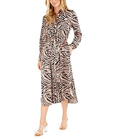Becca Tilley x Animal-Print Shirtdress, Created For Macy's