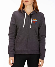 Escaper Zip-Up Fleece Hoodie