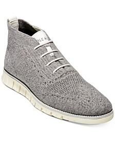 Men's ZERØGRAND Stitchlite Wool Chukka Boots