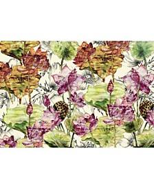 """Lotus Wall Mural, 145"""" x 96"""""""