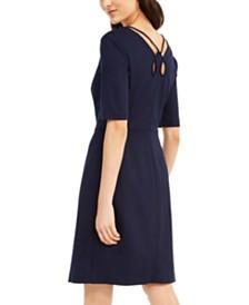 Trina Turk Aroma Keyhole-Back Dress