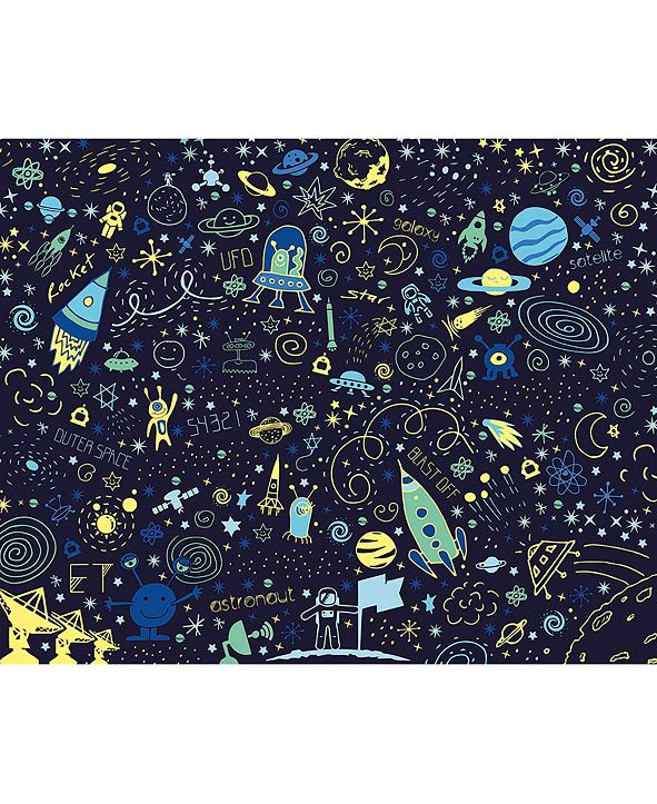 ohpopsi Space Doodle Wall Mural
