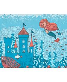 Mermaid Castle Wall Mural