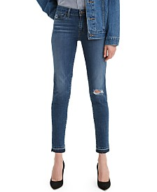 Levi's® 711 Released-Hem Skinny Jeans