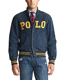 Polo Ralph Lauren Men's Logo Baseball Jacket