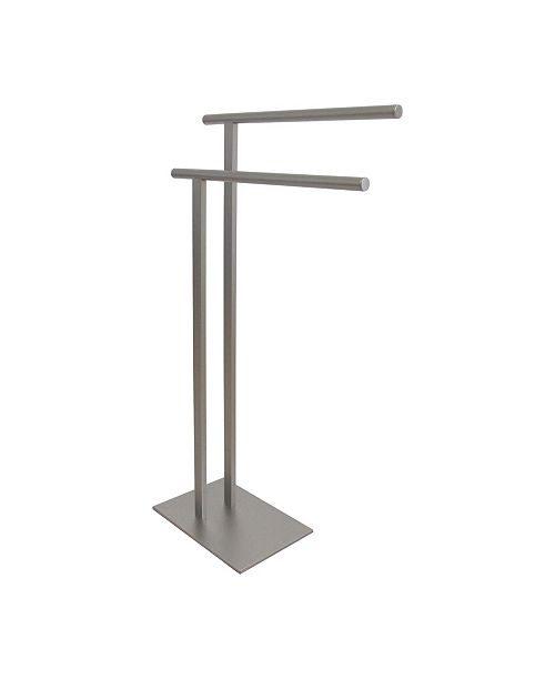 Kingston Brass Double L Shape Pedestal Towel Holder