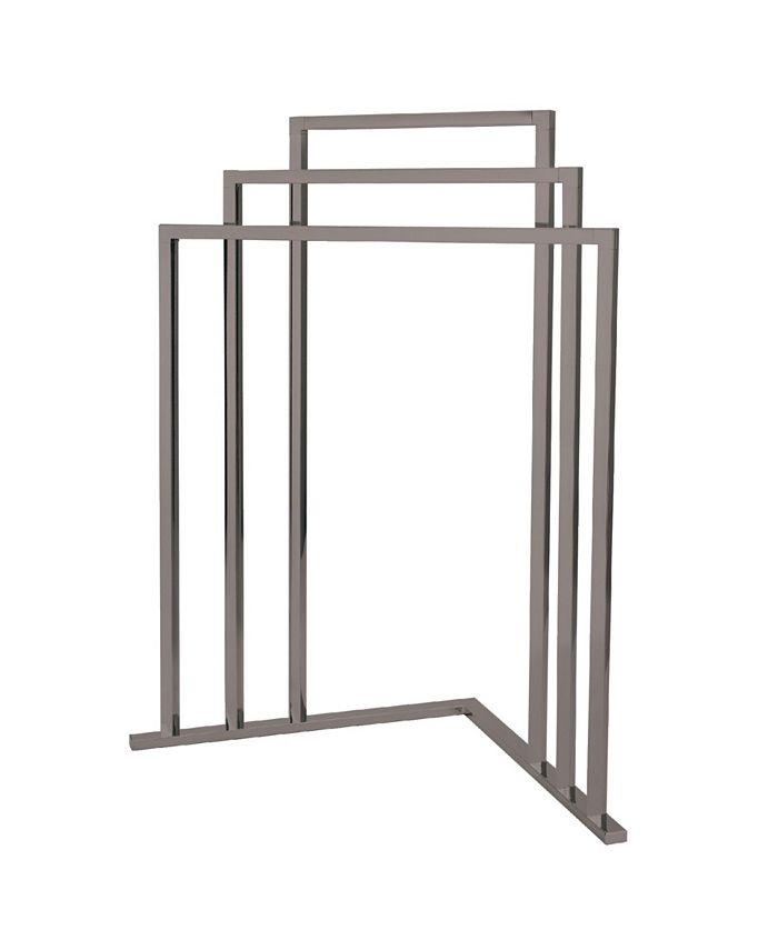 Kingston Brass - L Shape 3-Tier Steel Construction Corner Towel Rack