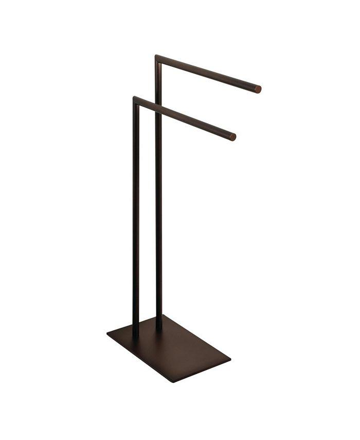Kingston Brass - Pedestal Dual Towel Rack