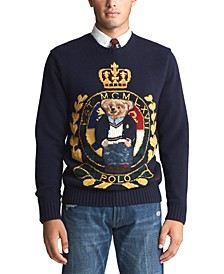 Men's Royal Bear Wool Blend Sweater