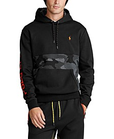 Men's Double-Knit Camo Stripe Hoodie