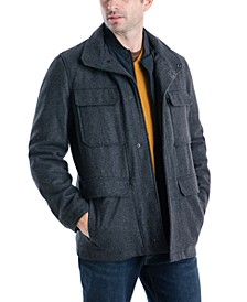 Men's Mayfield Field Coat, Created for Macy's