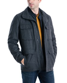 Michael Kors Men's Mayfield Field Coat, Created For Macy's