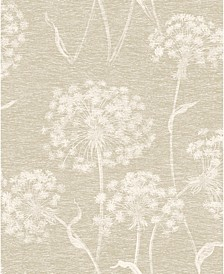 "20.5"" x 369"" Garvey Dandelion Wallpaper"